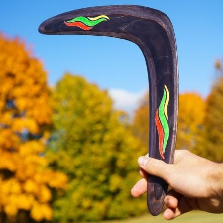 Bumerangas, netradicinės dovanos su Lietuvos simbolika